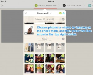 animoto screen 3