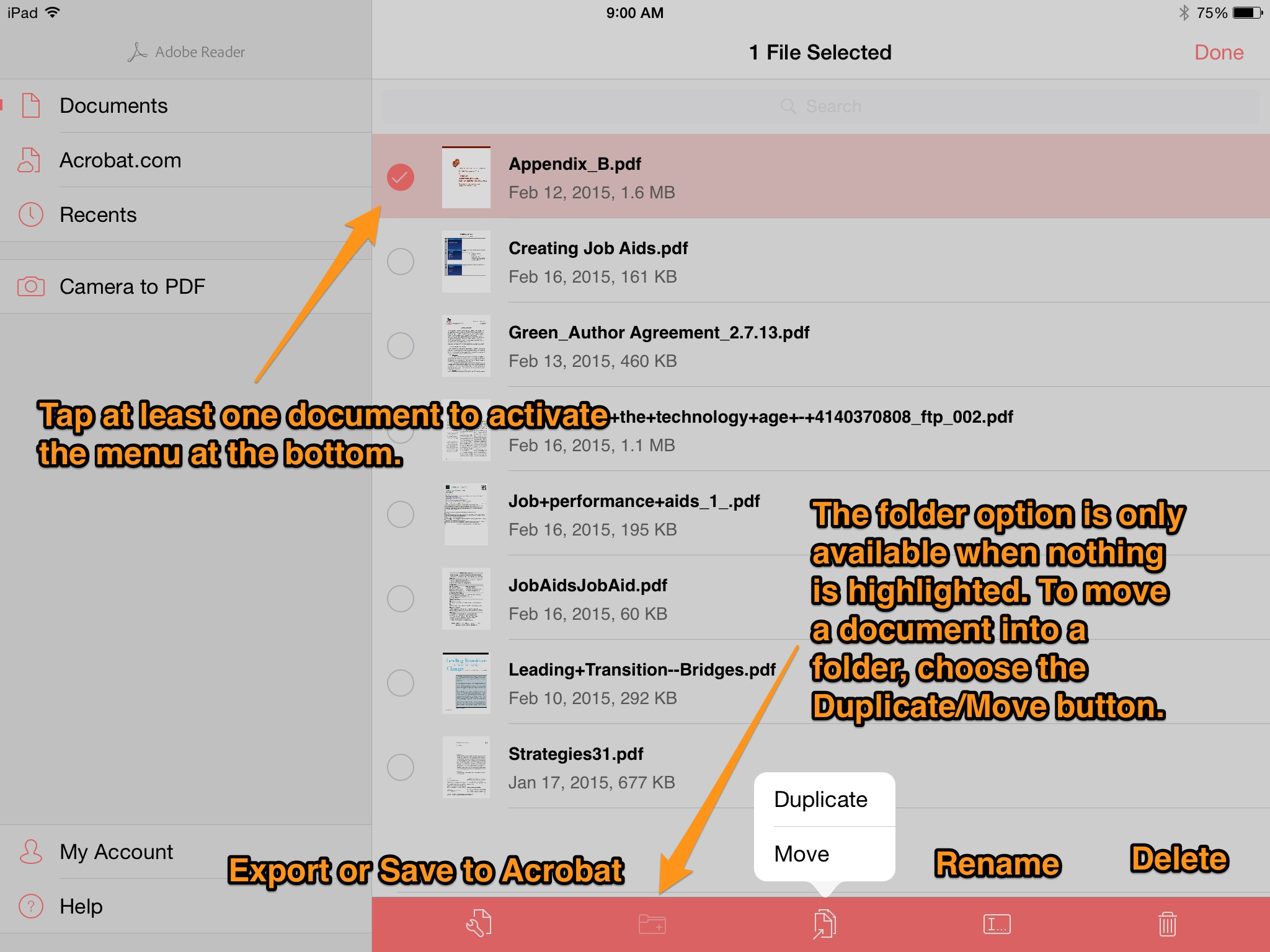 Annotate PDFs on the iPad with Adobe Reader – Come On, Get 'Appy!
